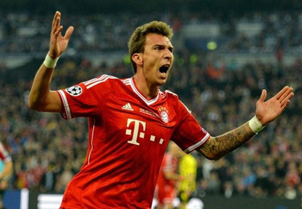 Mandzukic is intent on the treble