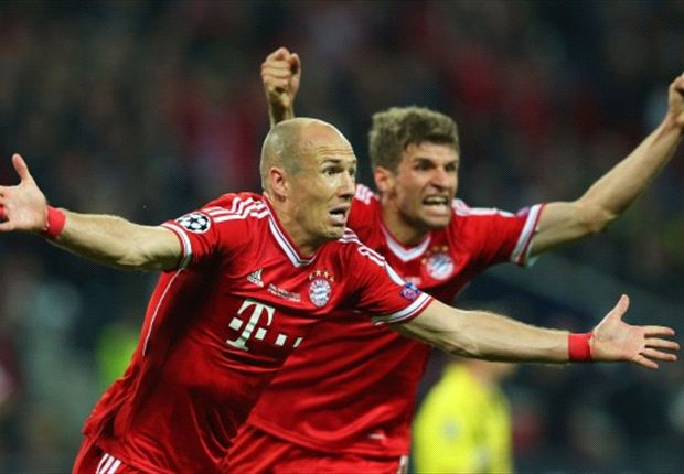'Relief at last' - Goal.com's World Player of the Week Arjen Robben