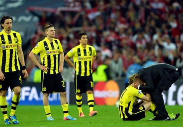 Borussia Dortmund muss nicht traurig sein