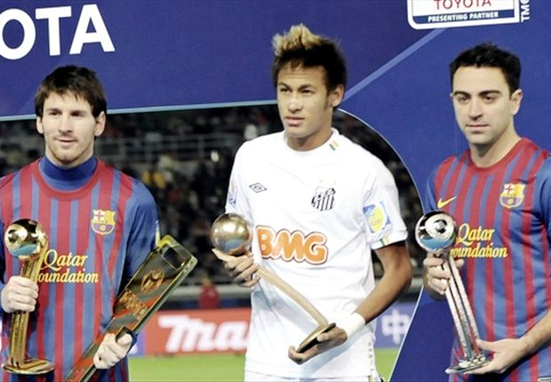 Messi, Neymar & Xavi will all be team-mates next season