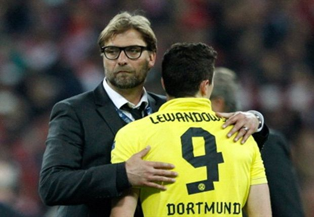 Lewandowski is expected to leave Borussia Dortmund