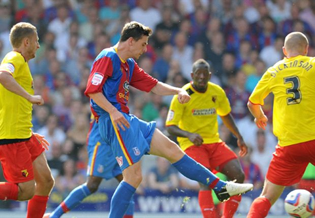 Crystal Palace take on Watford in the Championship play-off final