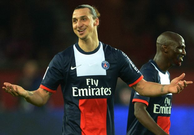 Zlatan Ibrahimovic is set to stay at PSG for at least one more season