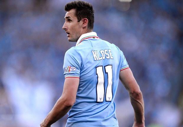 Miroslav Klose holte mit Lazio die Coppa Italia