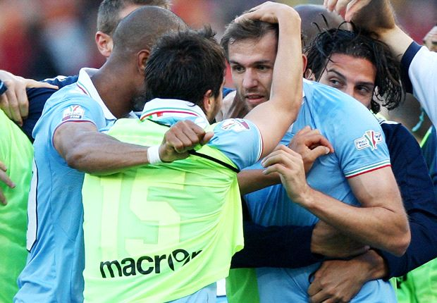 Lulic was thrilled to score the winner against Roma on Sunday