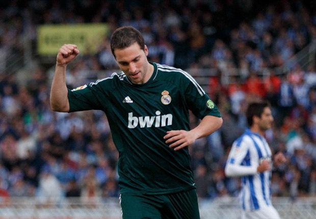 Real Madrid speelt in slotminuut gelijk