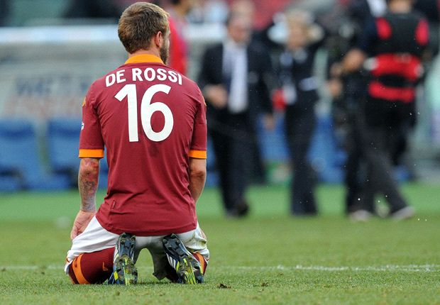 'I have to be careful what I do in Rome' - De Rossi