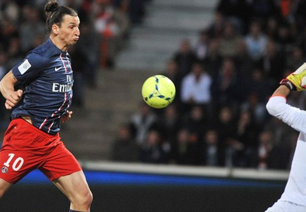 Lorient 1-3 Paris Saint-Germain: Gameiro at the double but Sakho in goal as champions' season finishes in farce