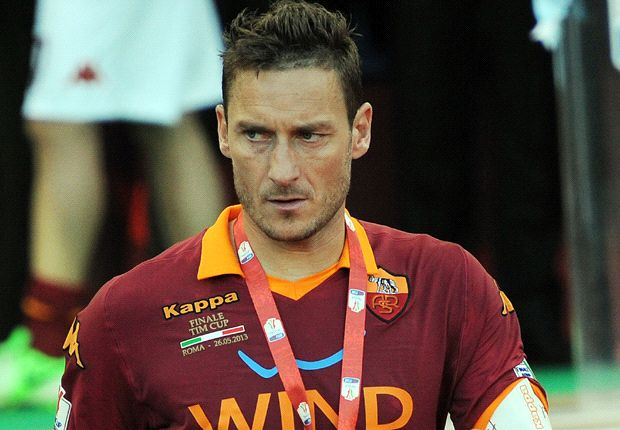 Francesco Totti feels he could have won two Ballons d'Or at Real Madrid