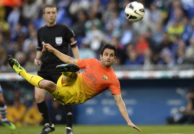 Cesc Fabregas weiß noch nicht, auf welcher Position er auflaufen wird.