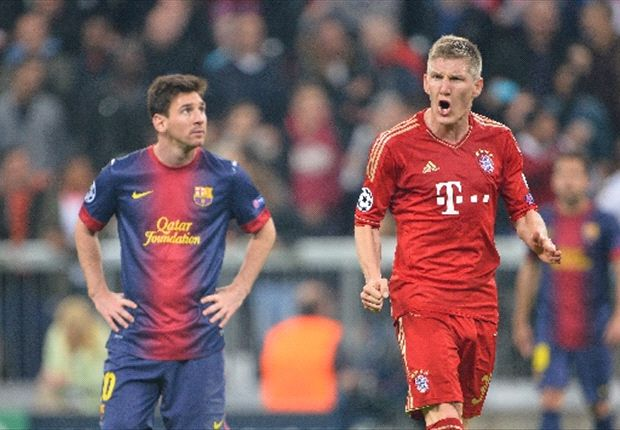 Bastian Schweinsteiger insists Messi and Co. are still the team to beat