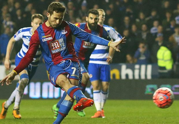 Reading 0-2 Crystal Palace: Pardew's men leave it late