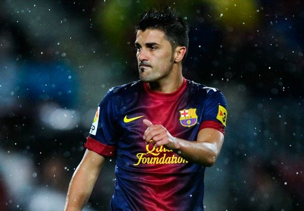 David Villa says 'yes' to