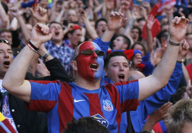Crystal Palace fans in limbo at play-off final