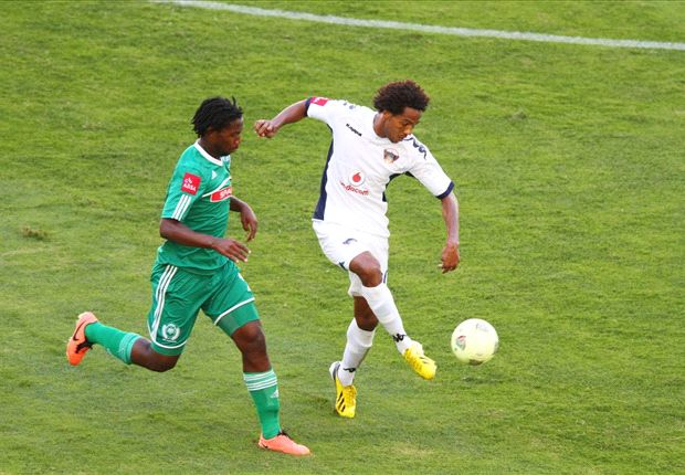 Issa Sarr during his days at Chippa United