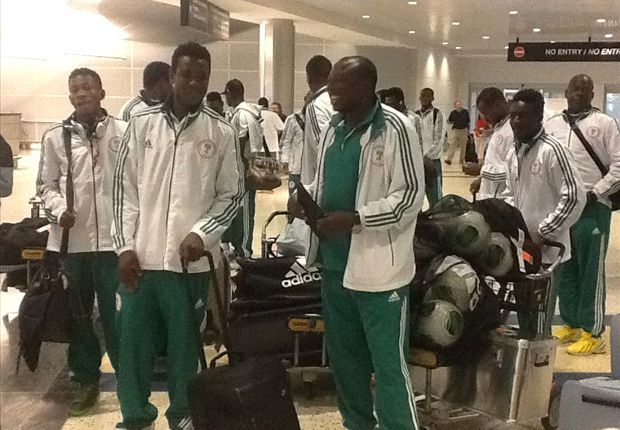 Nigeria Super Eagles have arrived in Kenya but rejected hotel booked by Kenya FA
