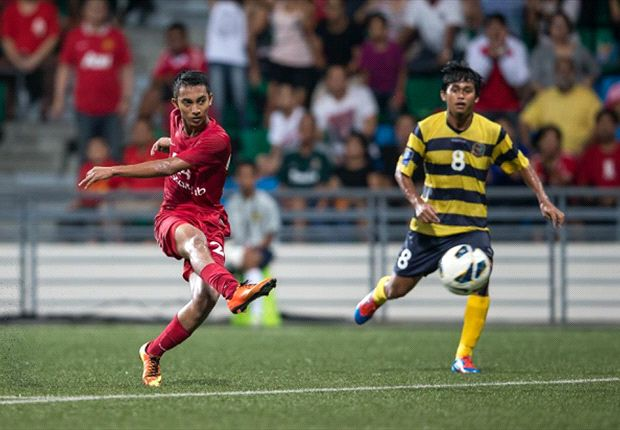 LionsXII winger Faris Ramli has been named in Sundram's U23 squad