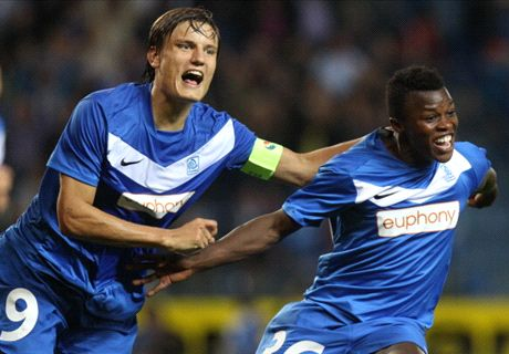 Timbe scores brace for Lierse