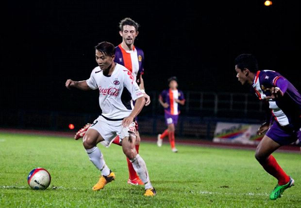The Home United striker earned a recall to the national team after his good form for the club