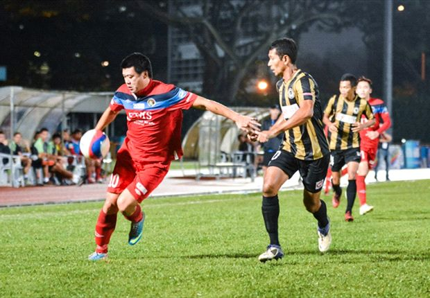 Qiu Li (L) will relish a return to S.League action as he seeks to help maintain Balestier's fine form