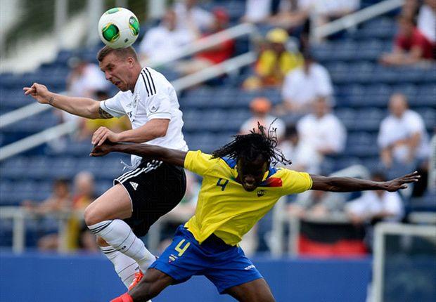 Ecuador 2-4 Alemania: El 'Tri' despierta pero no le alcanza