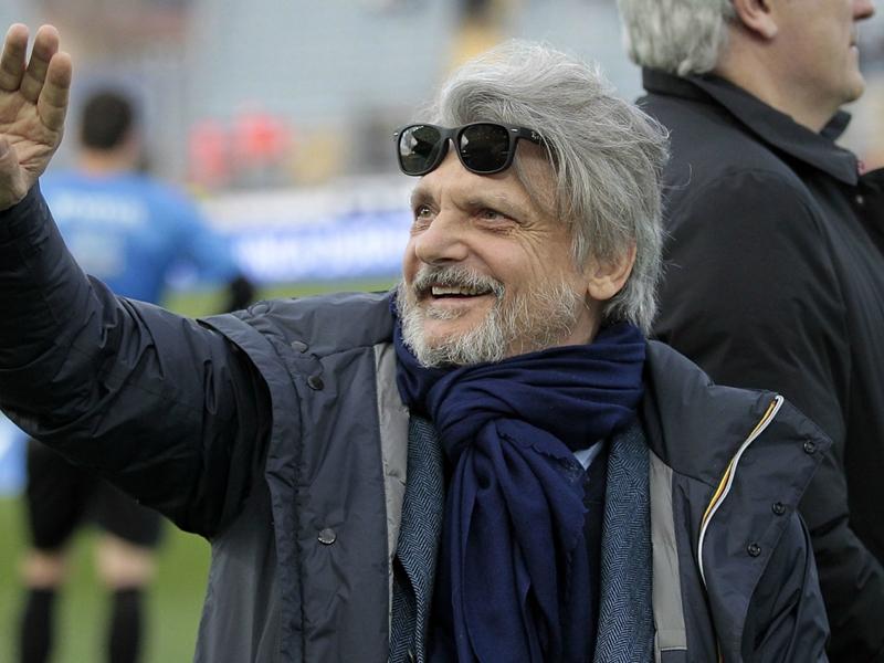 Mea culpa Ferrero dopo la gaffe: Rispetto la storia della Sampdoria