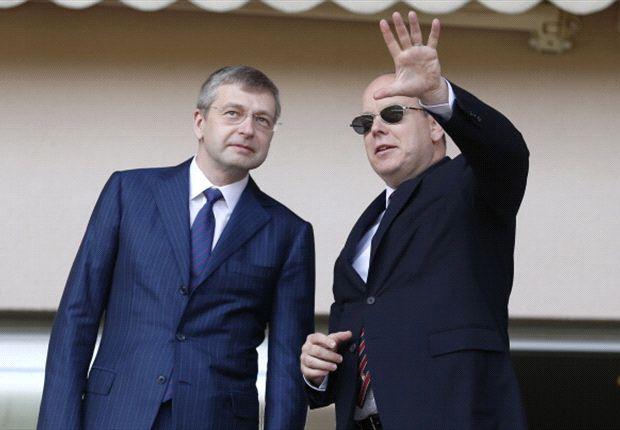 Rybolovlev junto al Príncipe Alberto de Monaco, al momento de adquirir el club que va por todo