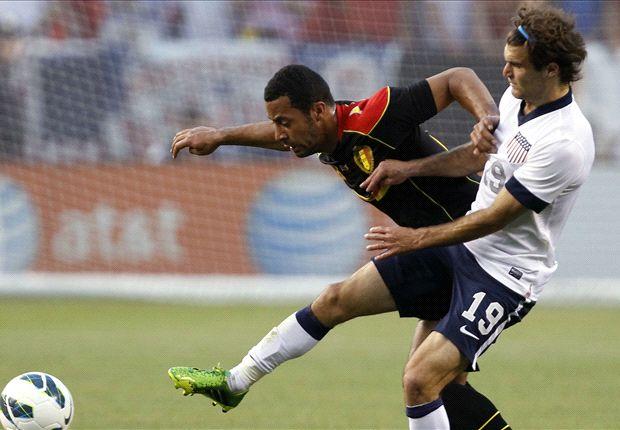 Belgia membekuk Amerika Serikat lewat tiga gol yang tercipta di babak kedua.