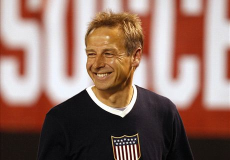 Klinsmann's formation experiment