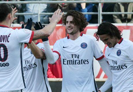 Ratings: Troyes 0-9 PSG