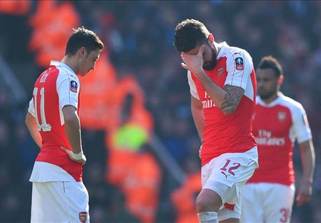 Wenger is NOT to blame for Cup exit