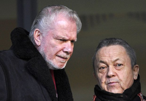 'West Ham are short of a striker but players must be sold first' - co-owner David Gold