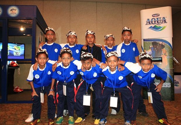 SSB Ken Arok, wakil Jawa Timur di final nasional Aqua Danone Nations Cup 2013.