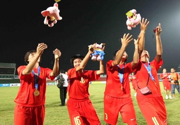 The Vietnamese women's national team topped their Asian Cup qualifying group with ease