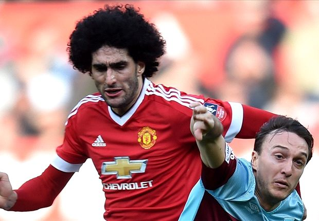 'Fellaini is not being used in his best position by Manchester United'