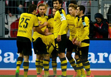 RATINGS: Red-hot Reus stars for BVB