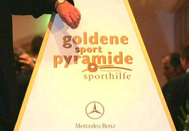Mercedes-Benz bei der Verleihung der Goldenen Sportpyramide der Stiftung Deutsche Sporthilfe