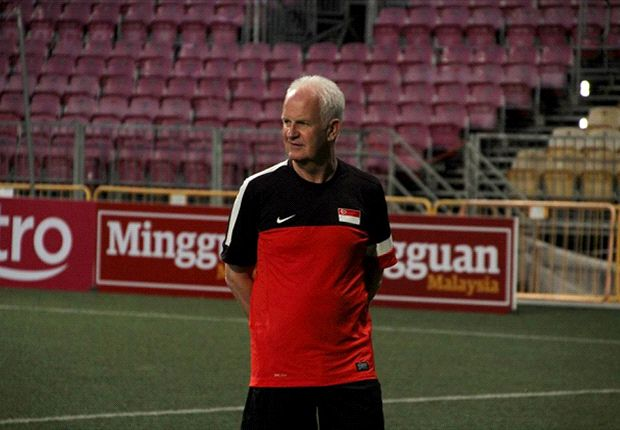 Singapore coach Bernd Stange has plenty of ideas on how to move forward