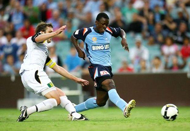 Ghanaian-born Kofi Danning returning to A-league side Brisbane Roar