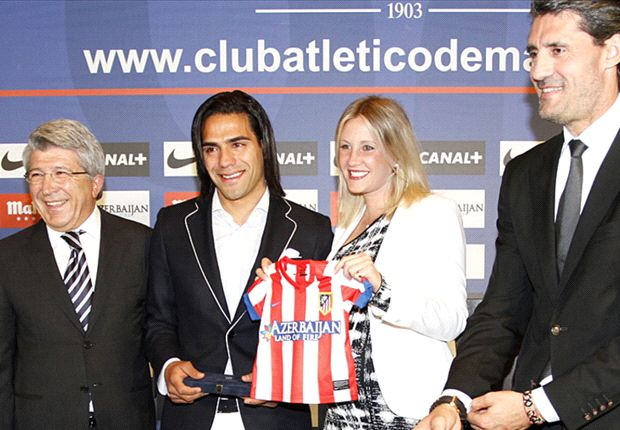 Radamel Falcao aims to take Monaco to the top