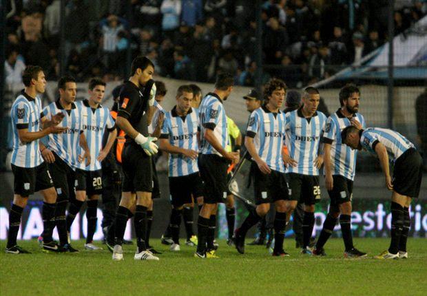 Racing perdió ante Quilmes y Argentinos le ganó a River: ambos complicaron a Independiente.