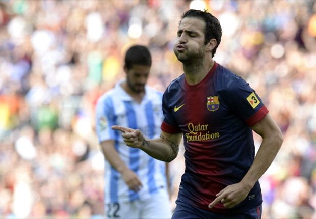 Manchester United make opening €30m Fabregas offer