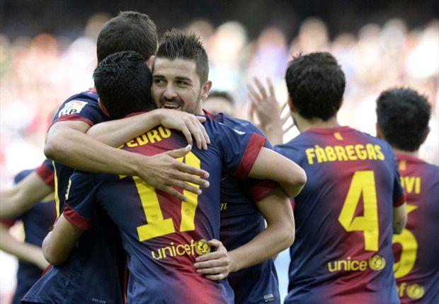 El Barcelona cierra la Liga con 100 puntos