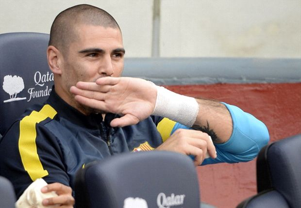 Valdes has confirmed he will stay at Barcelona until 2014
