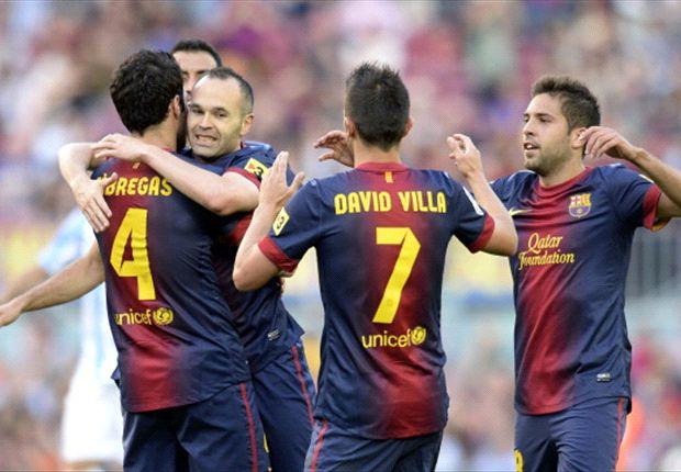 Clubrecord voor Barça in laatste wedstrijd