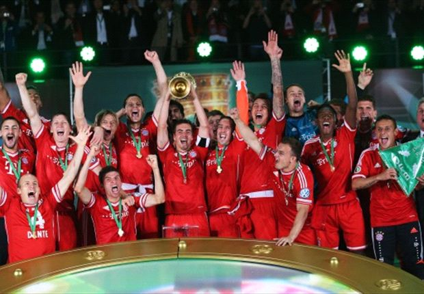 Franck Ribery revels in Bayern's historic cup win