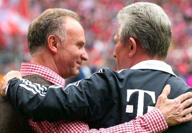 FC Bayern München: Karl-Heinz Rummenigge schwärmt von Jupp Heynckes
