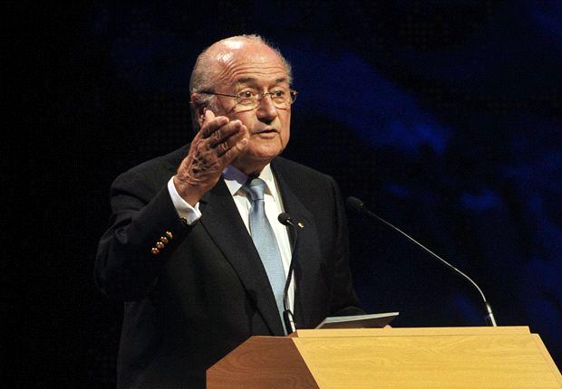 """""""Bin aus organisatorischer Hinsicht sehr zufrieden"""" - Sepp Blatter"""