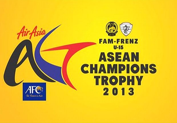 The NFA U15s are taking part in the inaugural FAM-Frenz ASEAN Champions Trophy 2013