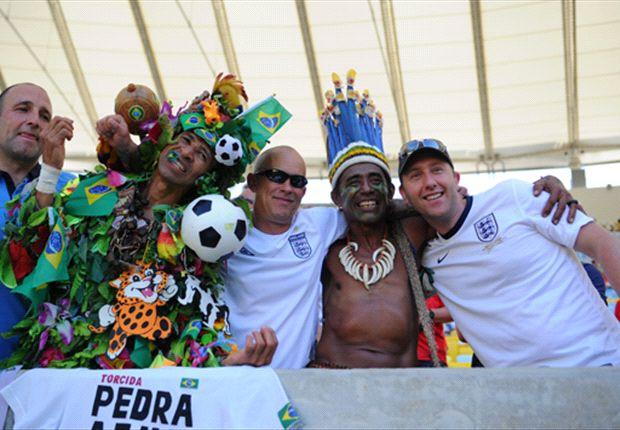 l u0026 39 ambiance s u0026 39 annonce chaude entre les supporters de deux des plus grandes nations du football